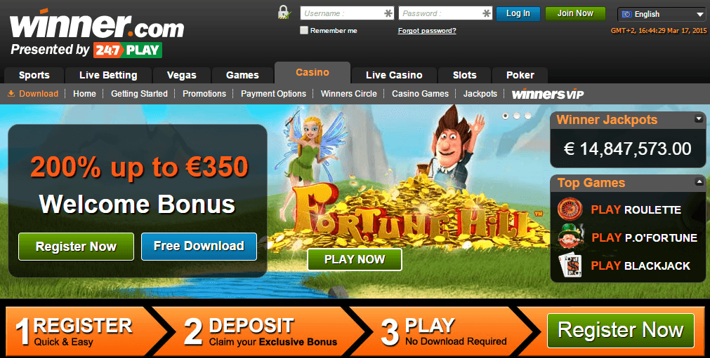 winner casino south africa reviews